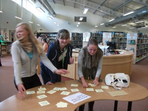Freshers' Day at Pershore College Library