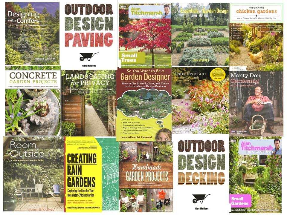 New garden design books at moreton morrell welcome to for Garden design books